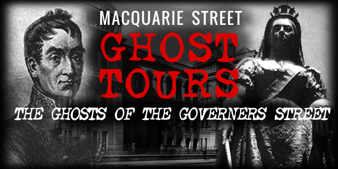 Sydney Macquarie Street Ghost Tour